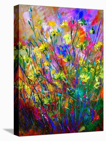 Wild Flowers-Pol Ledent-Stretched Canvas Print