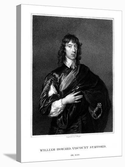 William Howard, 1st Viscount Stafford, Roman Catholic Martyr-T Wright-Premier Image Canvas