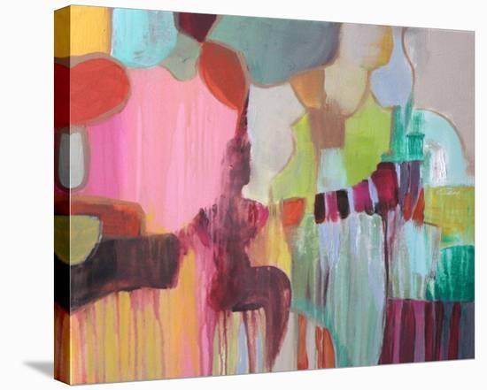 Woman Awakening--Stretched Canvas Print
