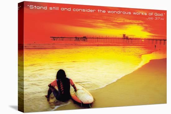 Wondrous--Stretched Canvas Print