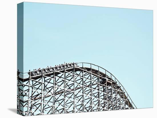 Wooden Coaster--Stretched Canvas Print