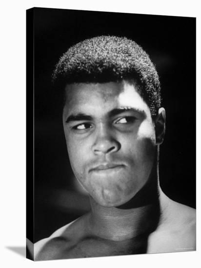 World Heavyweight Champion, Cassius M. Clay, After Winning Bout Against Cleveland Williams-Bob Gomel-Premier Image Canvas