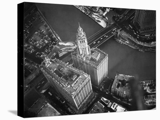 Wrigley Building in South Chicago. 1951-Margaret Bourke-White-Stretched Canvas Print
