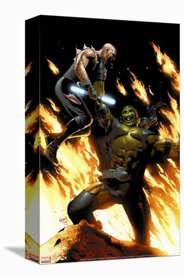 X-Men: Heroes And Martyrs No.2 Cover: Warskrull-Sean Chen-Stretched Canvas Print