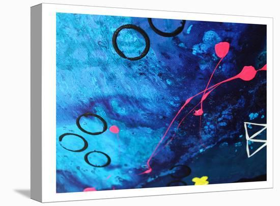 XO Splatter-Deb McNaughton-Stretched Canvas Print