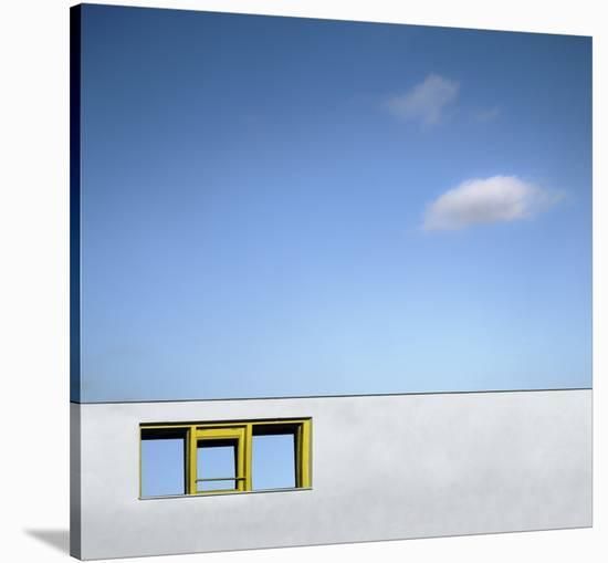 Yellow Window-Gilbert Claes-Stretched Canvas Print