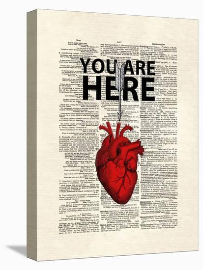 You Are Here-Matt Dinniman-Stretched Canvas Print