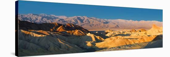 Zabriskie Point, Death Valley, Panoramic Duo I-Richard Desmarais-Stretched Canvas Print