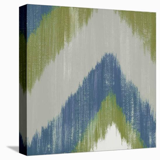 Zigs n Zags II-Rita Vindedzis-Stretched Canvas Print