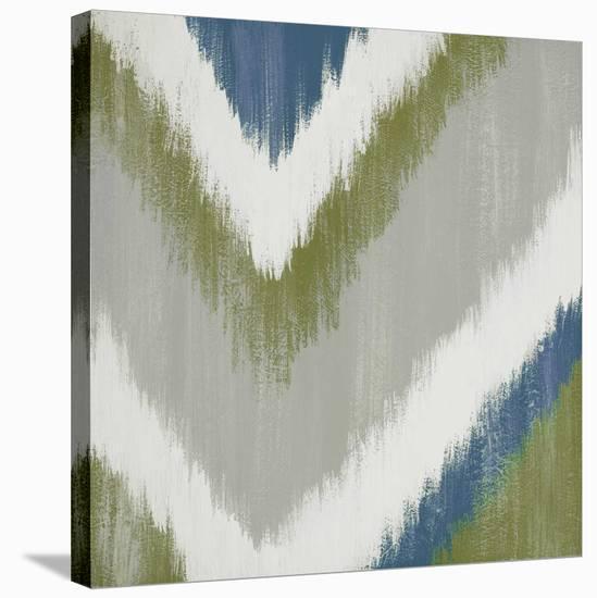 Zigs n Zags III-Rita Vindedzis-Stretched Canvas Print