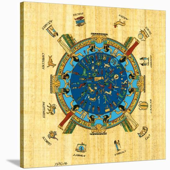 Zodiac Signs--Stretched Canvas Print