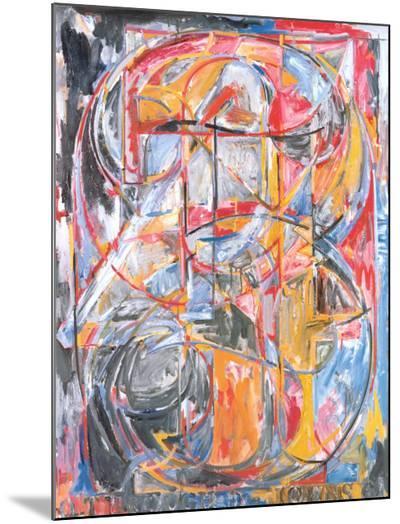 0 Through 9, 1961-Jasper Johns-Mounted Print