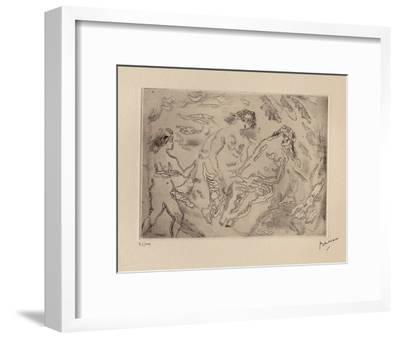 009 - Jeunes filles-Jules Pascin-Framed Limited Edition
