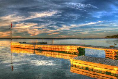 1,000 Islands Dock 1-Robert Goldwitz-Photographic Print
