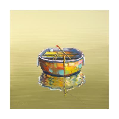 1 Boat Yellow-Edward Park-Giclee Print