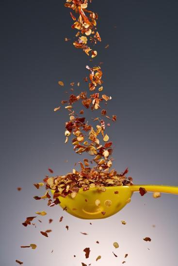 1 Tablespoon Red Pepper Flakes-Steve Gadomski-Photographic Print