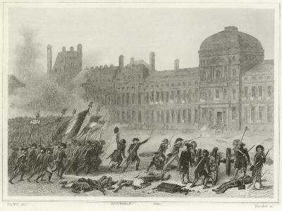 10 August 1792-Denis Auguste Marie Raffet-Giclee Print