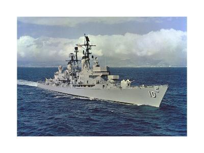 10 - USS King (DLG-10)--Giclee Print