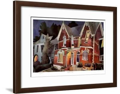 100 Years of Night-Rudolph Stussi-Framed Limited Edition