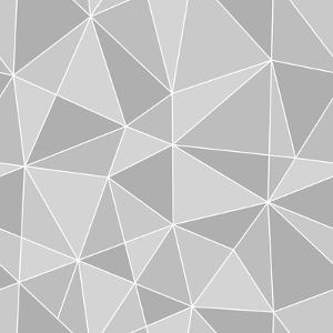 Seamless Triangles Texture, Abstract Illustration by 100ker