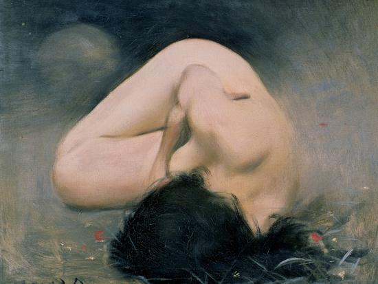 103-0079519/1 Nude Woman-Ramon Casas i Carbo-Giclee Print