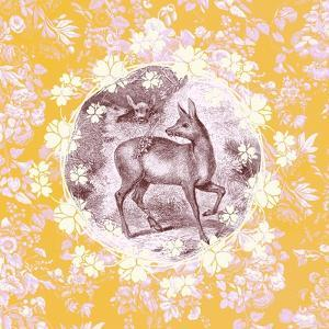 Deer with Chintz by 11.0