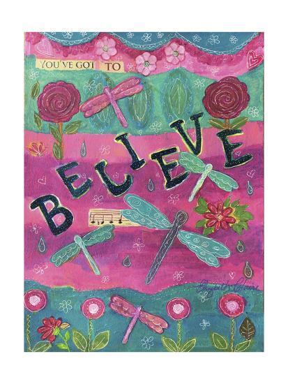 119-Believe-Elizabeth Claire-Giclee Print