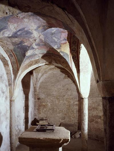 11th Century Crypt, Cathedral of Chieri, Italy--Giclee Print
