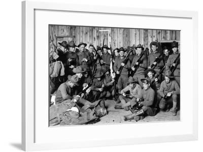 11th Us Cavalry, 1914--Framed Photographic Print