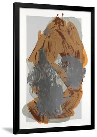 12 Bottom Sand, Earth, Smile-Darryl Hughto-Framed Serigraph