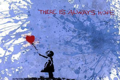 128 Balloon Girl-Banksy-Giclee Print