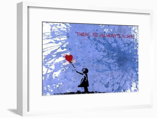 128 Balloon Girl-Banksy-Framed Giclee Print