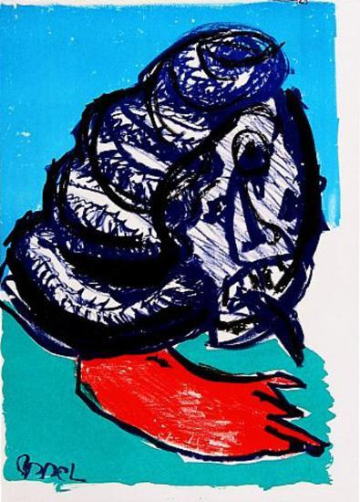 129 (One Cent Life)-Karel Appel-Collectable Print