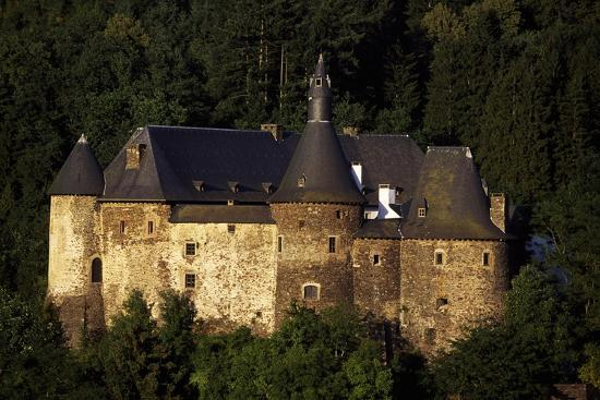 12th Century Feudal Castle in Clervaux, Luxembourg--Giclee Print