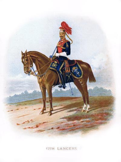 12th Lancers, 1889--Giclee Print