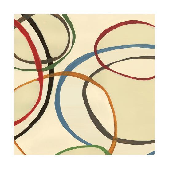 13 Thursday Square II Circle Abstract-Jeni Lee-Art Print