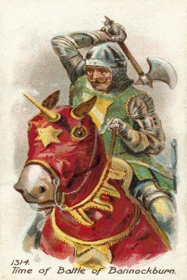 1314, Time of Battle of Bannockburn--Giclee Print