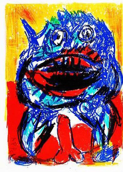 132 (One Cent Life)-Karel Appel-Collectable Print