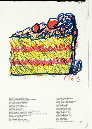 137 (One Cent Life)-Claes Oldenburg-Collectable Print