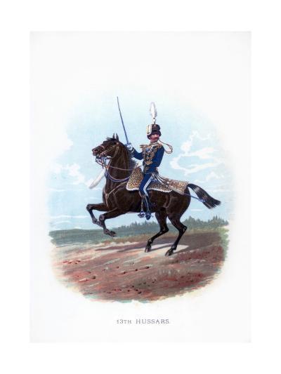 13th Hussars, 1889--Giclee Print