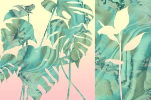 Marbled Tropical Silhouettes by 14.0