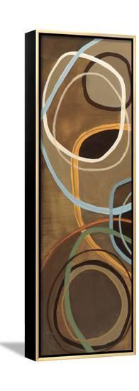 14 Friday Panel IV-Jeni Lee-Framed Canvas Print