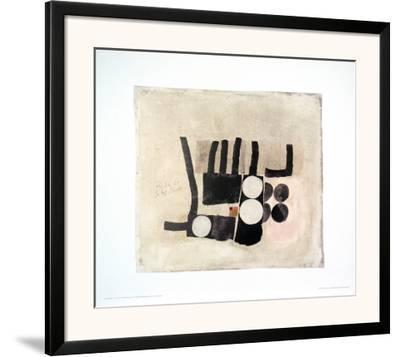 14 Juli 61,1893-1965-Julius Bissier-Framed Art Print