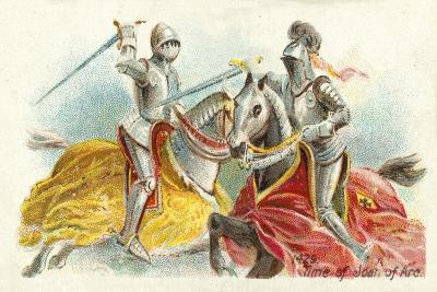 1429, Time of Joan of Arc--Giclee Print