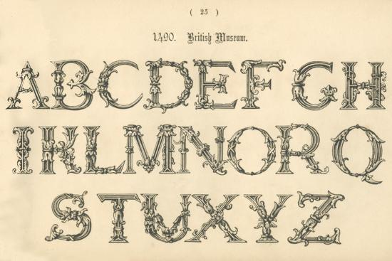 '1490. British Museum', 1862-Unknown-Giclee Print