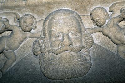 14th-16th Century Tombstone in Saxon Evangelical Church--Giclee Print