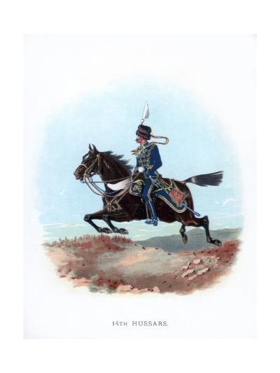 14th Hussars, 1889--Giclee Print