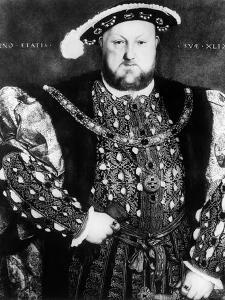 1540 Portrait of King Henry VIII England Looking at Camera by Hans Holbein