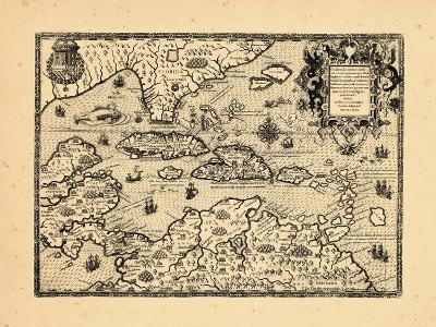 1594, West Indies--Giclee Print