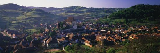 15th Century Fortified Church, Biertan, Nr. Sighisoara, Transylvania, Romania-Peter Adams-Photographic Print